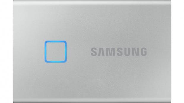 Samsung T7 Touch: Datenzugriff via Fingerabdruckscanner