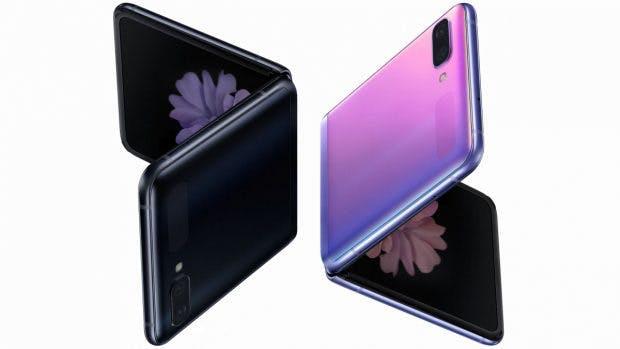 Samsung Galaxy Z Flip Leak. (Bild: Samsung: Evleaks)