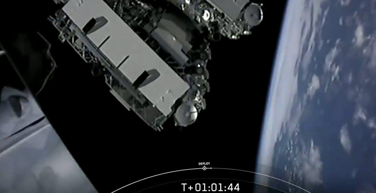 300 Satelliten: SpaceX startet fünfte Starlink-Mission