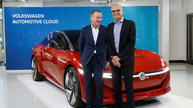 Mit einer Prise Nerd-Humor: VW und Microsoft rücken enger zusammen