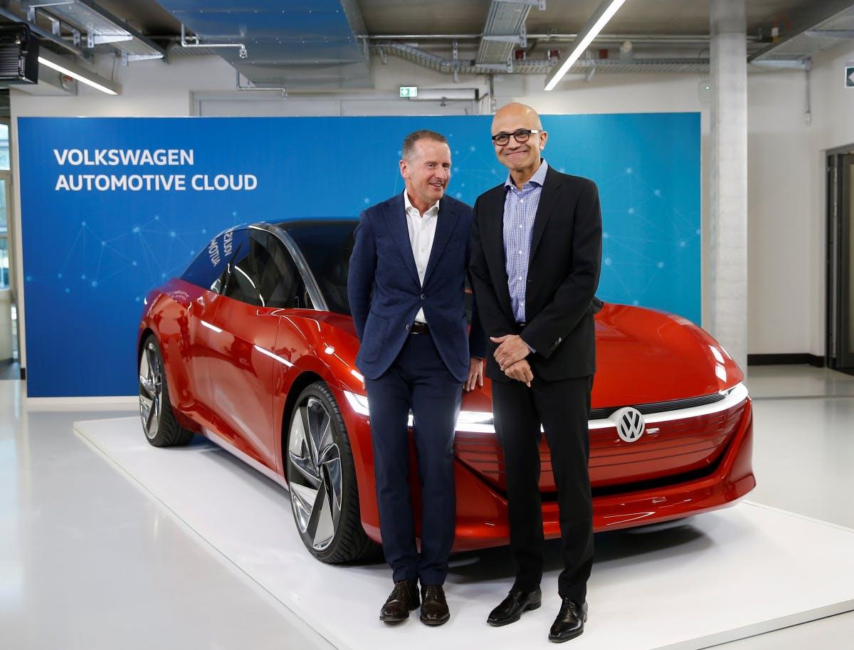 VW und Microsoft rücken enger zusammen – mit einer Prise Nerd-Humor