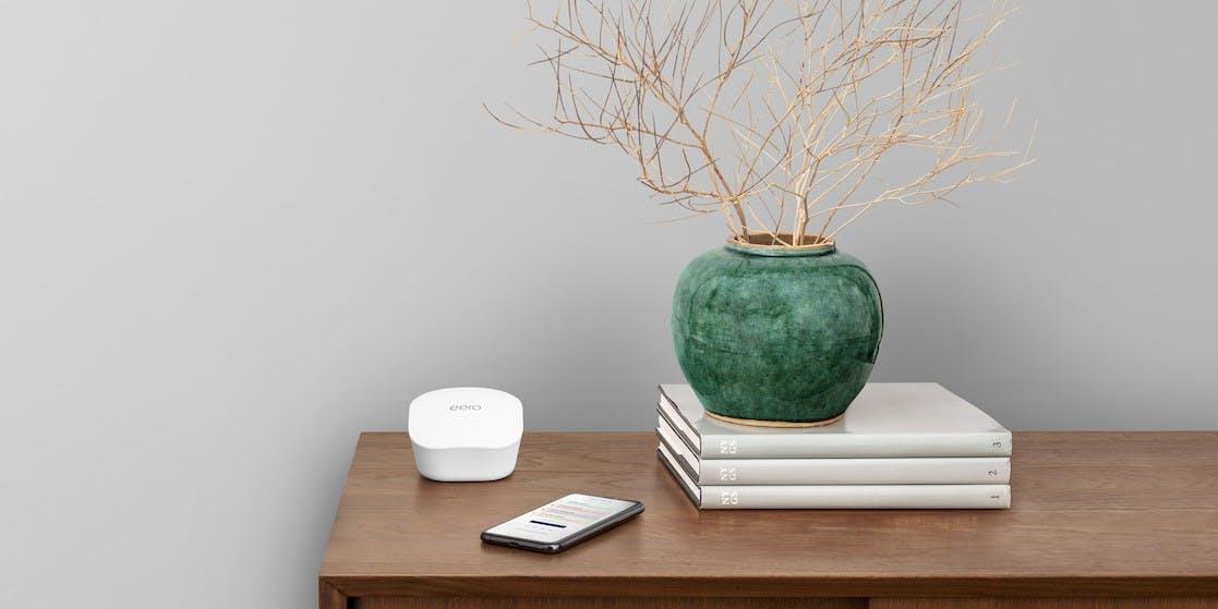 Amazons Mesh-WLAN-Router Eero unterstützen ab sofort Apples Homekit