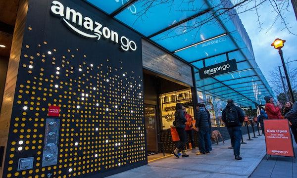 Amazon eröffnet ersten großen kassenlosen Go-Supermarkt