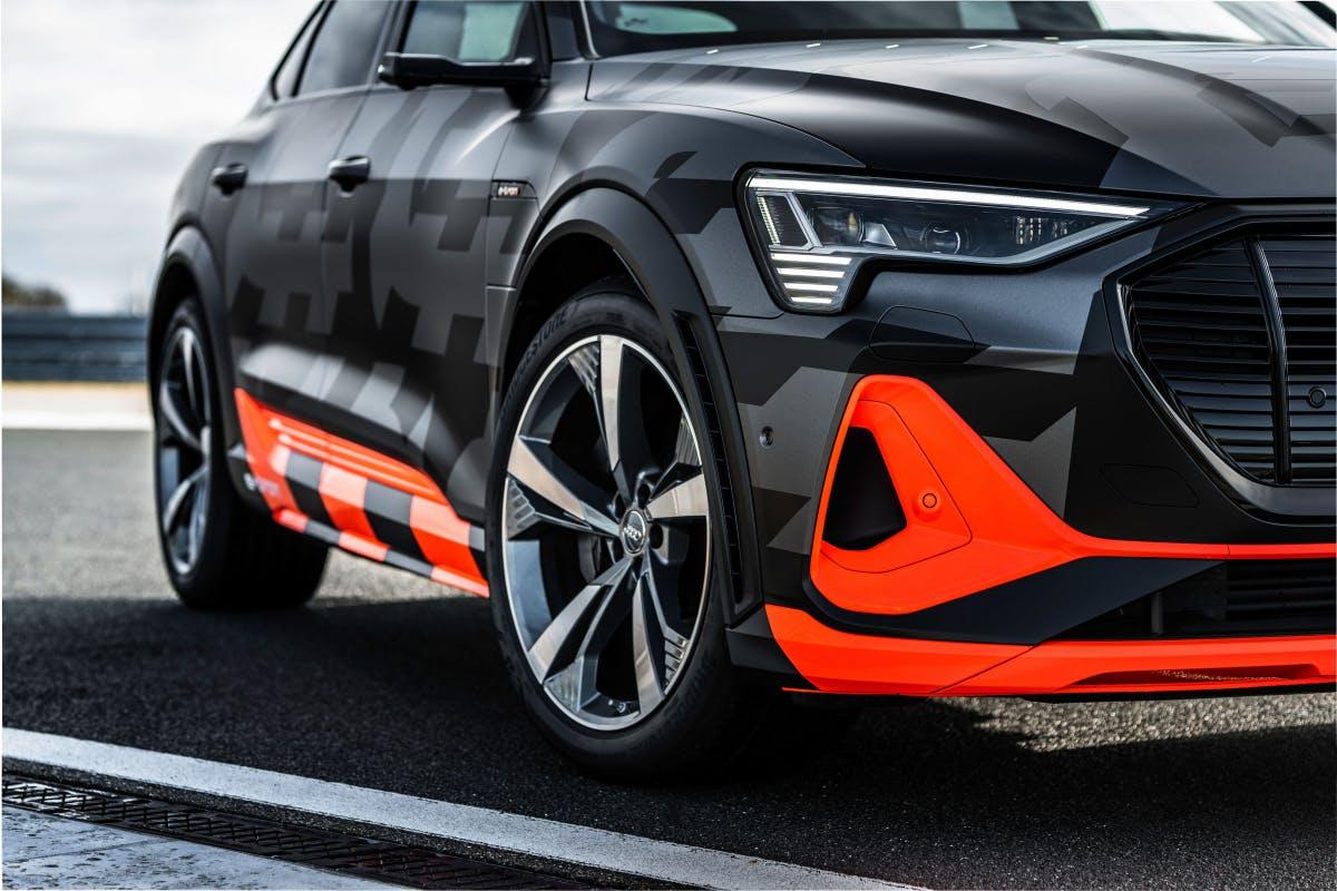 3 Motoren, mehr PS: Audi zeigt E-Tron S und E-Tron S Sportback