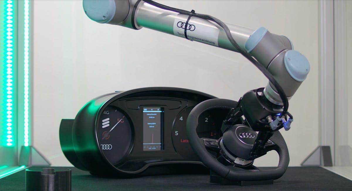 Pilotprojekt: Audi und Ericsson bringen 5G in die Autoproduktion