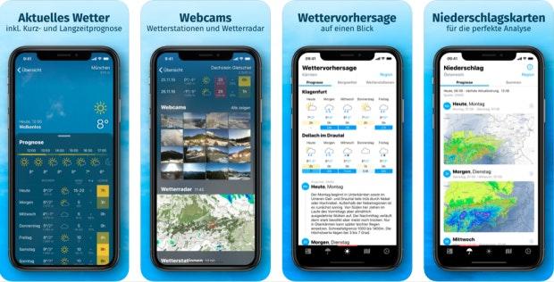 Bergfex/wetter auf dem iPhone