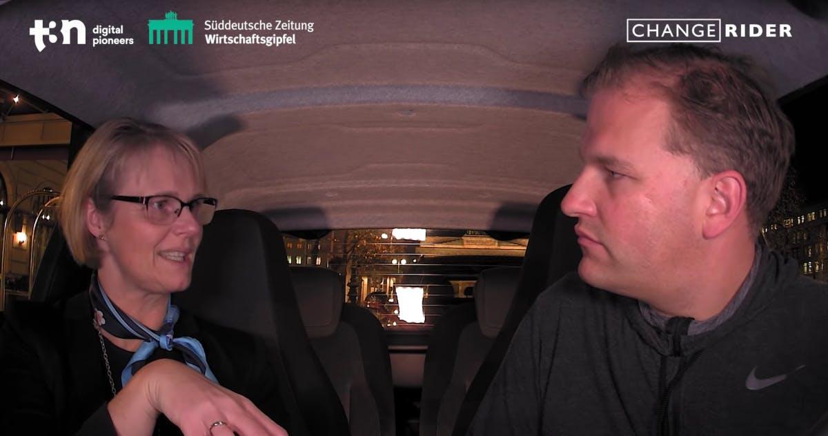 """Anja Karliczek im Changerider: """"Wir müssen anfangen, neu zu denken"""""""