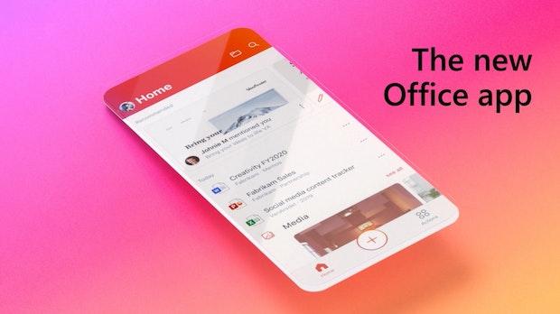 Word, Excel und Powerpoint in einer App: Neue Office-App ab sofort für Android und iPhones verfügbar