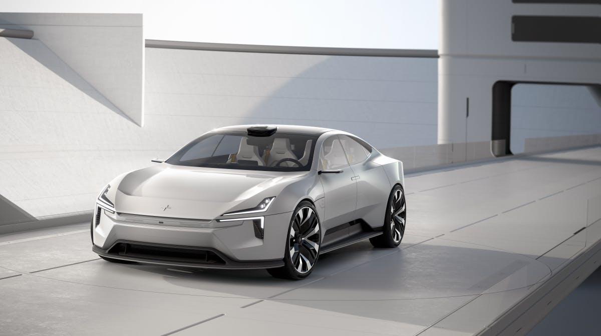 Design, Nachhaltigkeit und Technik: Volvo-Tochter zeigt Polestar Precept