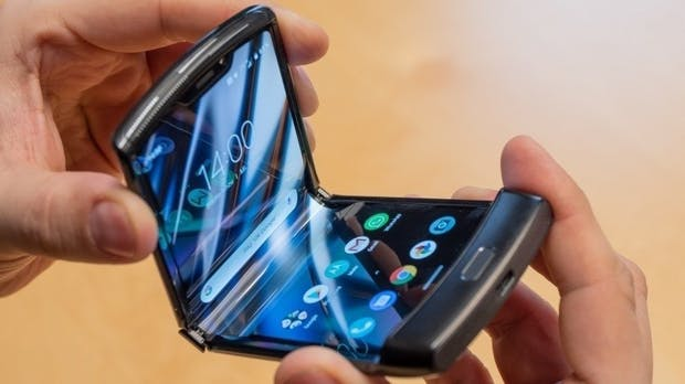 Motorola Razr: 27.000 Klappvorgänge, dann ist Schluss