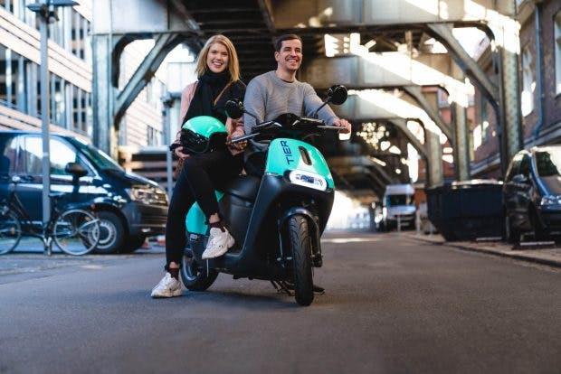Tier übernimmt Roller-Flotte von Bosch-Tochter Coup. (Foto: Tier Mobility)