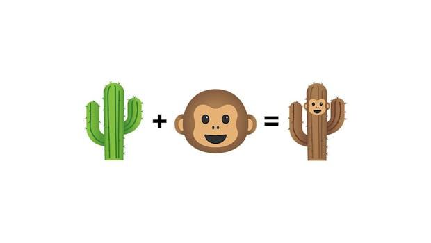 Googles neue Emoji Kitchen erlaubt verrückte Kombinationen. (Foto: Google)