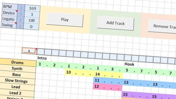 Excel: So macht ihr krasse Beats in der Tabellenkalkulation