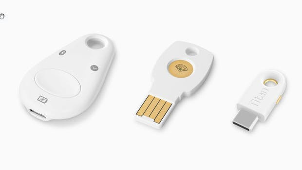 FIDO2: Googles Titan-Security-Keys jetzt auch in Deutschland erhältlich