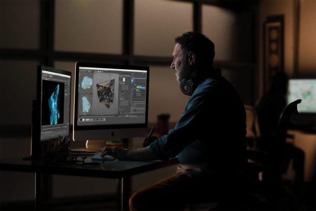 Video Editing am iMac 27 2019