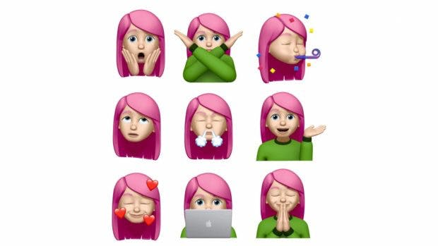 iOS 13.4 bringt neue Memoji-Sticker. (Screenshot: Macrumors)