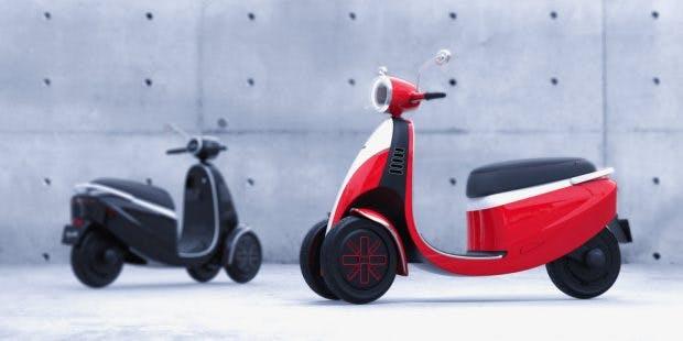 Das E-Dreirad Microletta. (Bild: Micro Mobility)