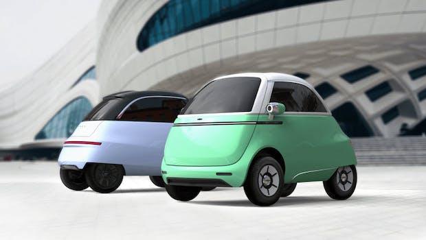 Microlino 2.0, geplant für 2021. (Bild: Micro Mobility)