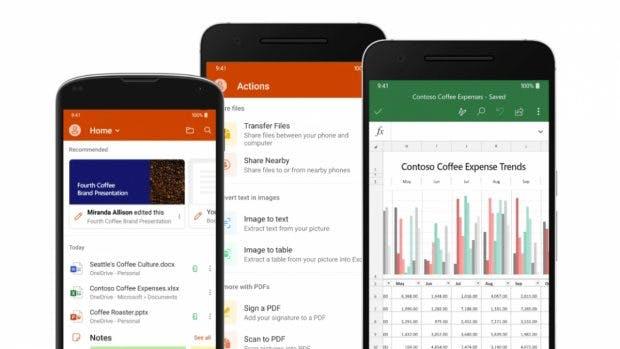 Microsoft Office App. (Bild. Microsoft)