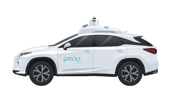 Chinas Waymo: Toyota steckt über 400 Millionen Dollar in Self-Driving-Startup Pony.ai