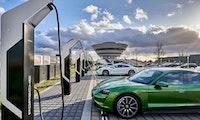 Porsche Turbo Charging: Leistungsstärkster Schnellladepark Europas steht in Leipzig