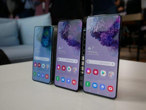 Samsung Galaxy S20 Familie. (Foto: t3n)