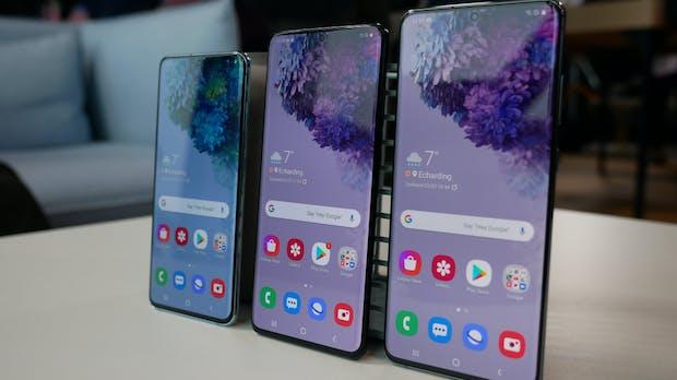 Samsung: Galaxy S20 startet schwächer als die Vorgänger