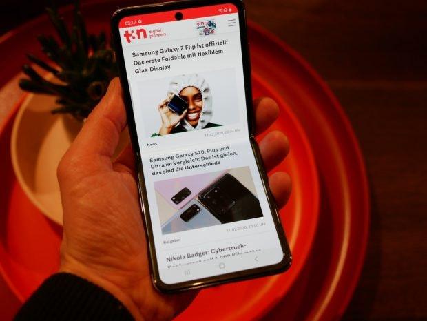 Samsung Galaxy Z Flip. (Foto: t3n)