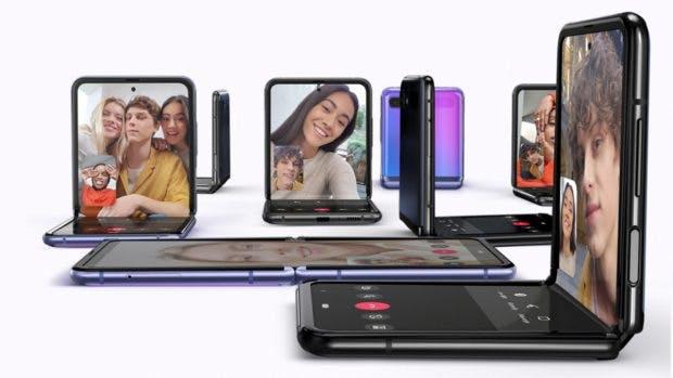 Samsung Galaxy Z Flip. (Bild: Samsung)