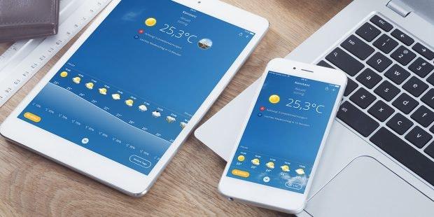 Wetter.com auf iPhone und iPad