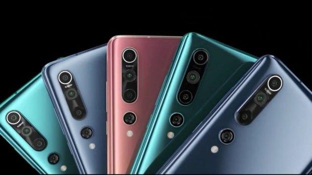 Xiaomi Mi 10 Farben. (Bild: Xiaomi)