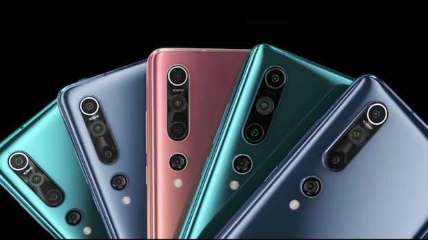 Xiaomi Mi 10 und 10 Pro: Neue Topsmartphones mit 108-Megapixel-Kamera und 5G