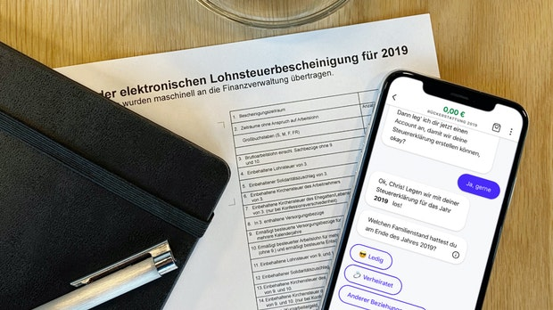 Steuerbot: Wie das Startup mit der Gratis-Steuererklärung trotzdem Geld verdienen will