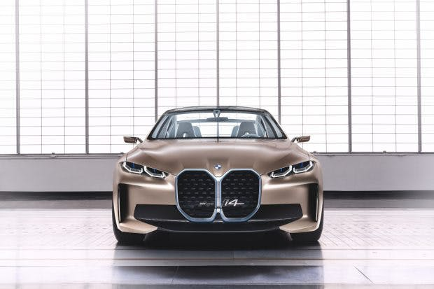 BMW Concept i4. (Bild: BMW)