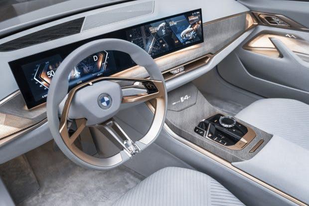 BMW Concept i4. (Bid: BMW)