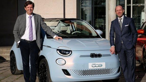 Stadtflitzer im Retro-Look: Vollelektrischer Fiat 500 vorgestellt