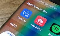 Appsuche erweitert Angebot auf Huawei-Geräten ohne Google-Dienste