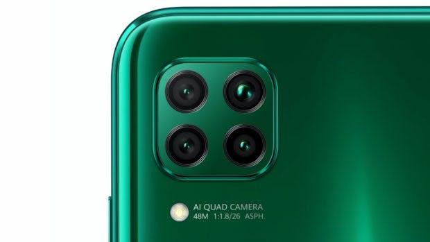 Die Kamera des Huawei P40 Lite. (bild: Huawei)