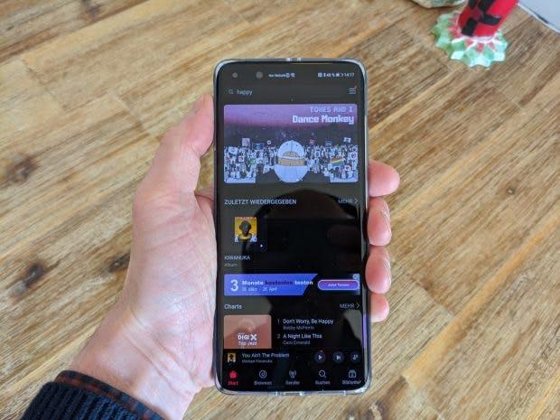 Huawei Music bietet 50 Millionen Songs. (Foto: t3n)