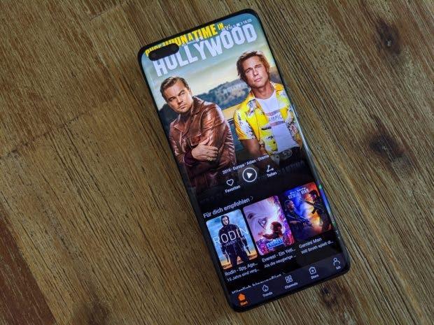 Huawei P40 Pro mit neuem Video-Dienst. (Foto: t3n)