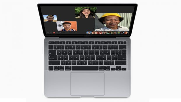 Macbook Air (2020). (Bild: Apple)