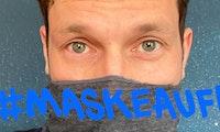 """#Maskeauf: Promis werben für """"Open-Source-Masken"""" gegen Sars-CoV-2"""