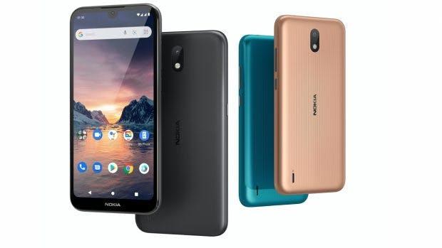 Nokia 1.3 mit Android 10 Go Edition. (Bild: HMD Global)