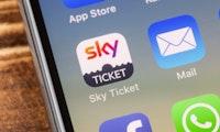Dein Fahrschein für beste Unterhaltung: Bei Sky Ticket jetzt 50 Prozent sparen