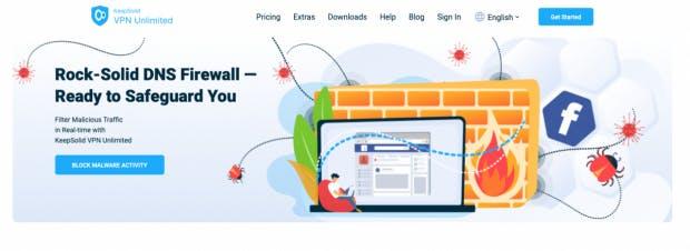 VPN Unlimited Webseite