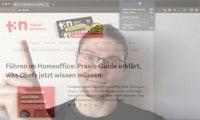 Vidrio: Webcam und Screen für eure Videokonferenz in einem Bild