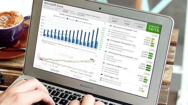 Aktien kaufen: Diese Website ermittelt die Wertpapier-Qualität – kostenlos