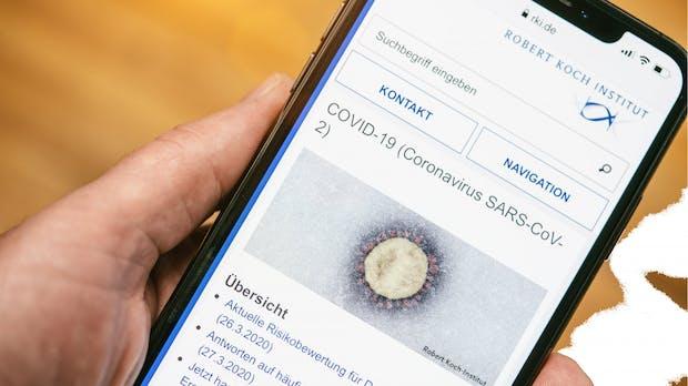 """RKI: Mehr als eine halbe Million Teilnehmer bei """"Datenspende""""-App"""