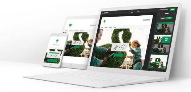 Homepage-Baukasten von GoDaddy
