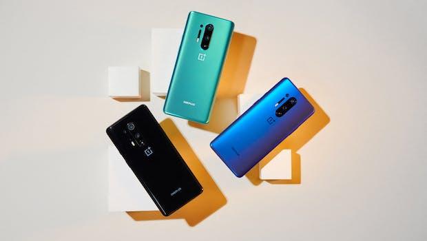 Oneplus 8 Pro – alle Farben. (Foto: Oneplus)